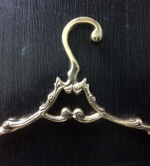 Designer Brass Hanger for Wedding Dresses
