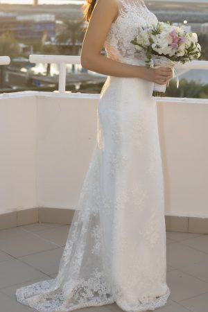 Milla Nova Lina Wedding Dress Side