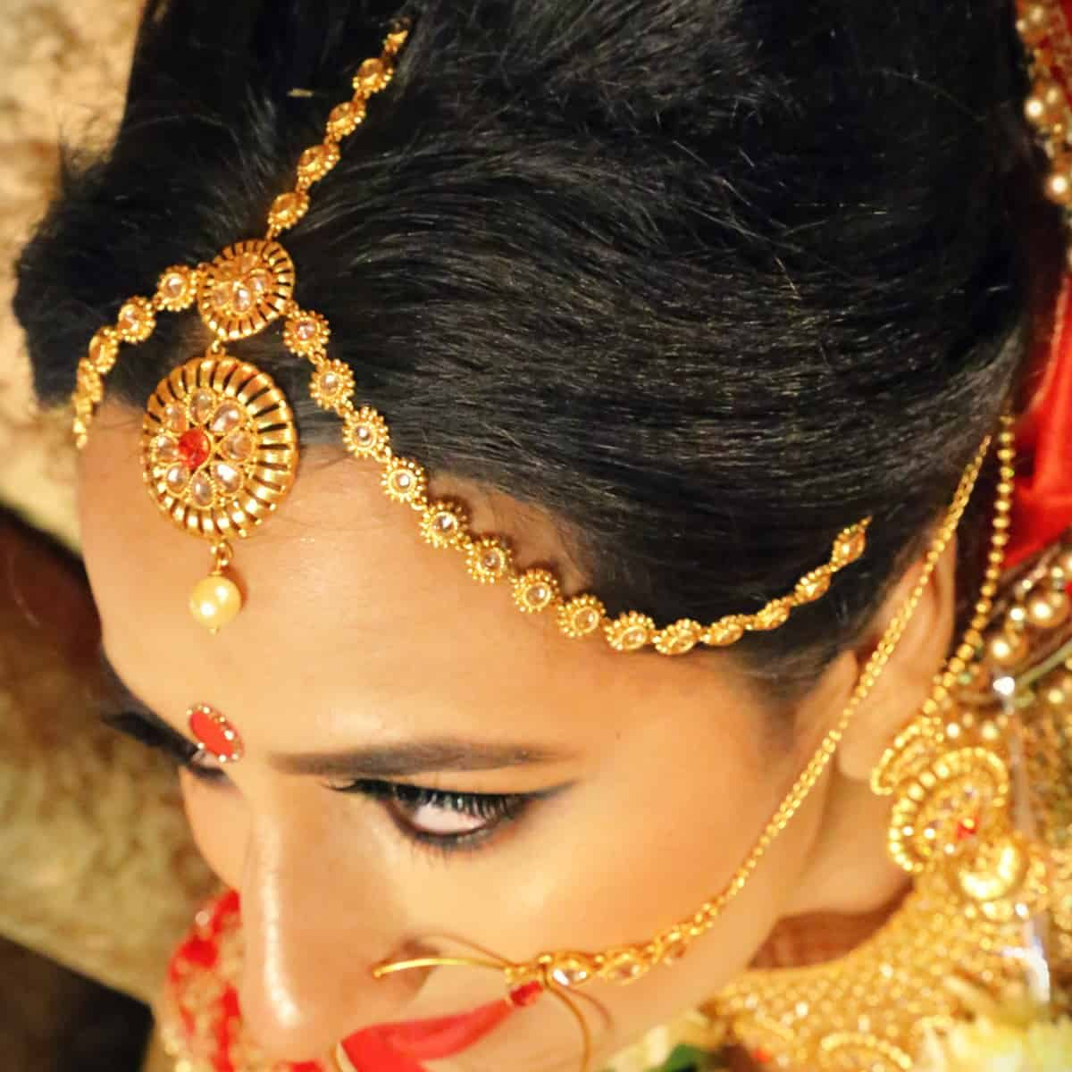 Indian Bridal-square